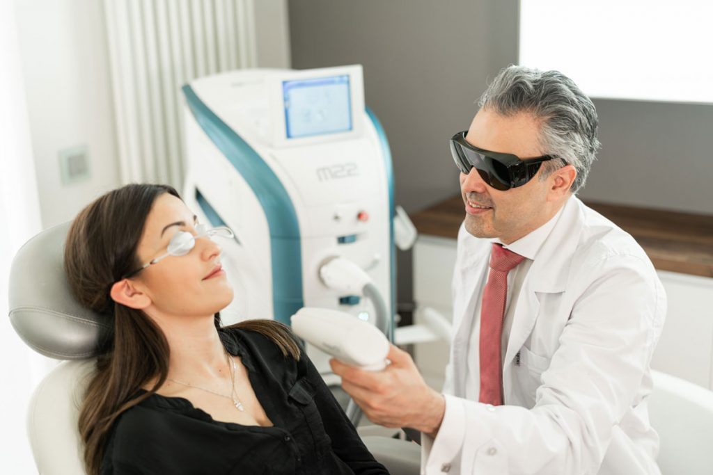 Laser treatments at Skin & Aesthetic
